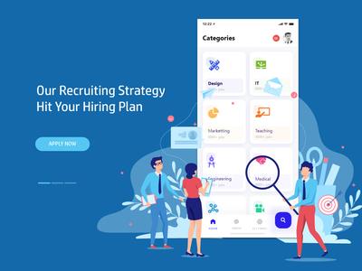 App for Jobs Hiring