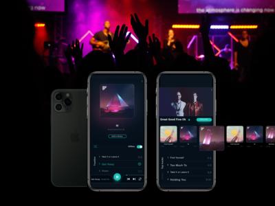 Live Music Track App