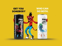 Protea Fire & Ice! energy drink can design 03 - Chilli Totem