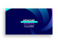 Resume of a storage medium - Motion Design
