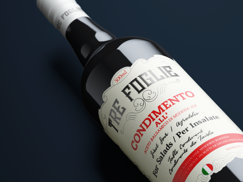 Tre Foglie italian wine vine