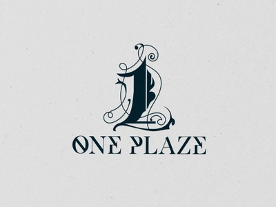 OnePlaze one retro vintage hand-drawn custom