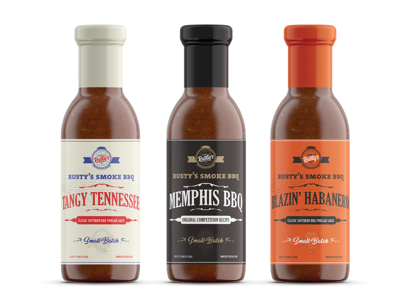 Some Label Designs For Sauces custom meat food barbeque bbq sauces label design