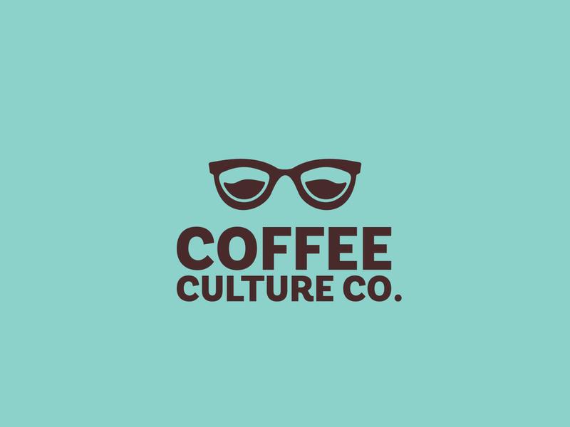 CoffeeCulture Co negative space simple premium culture coffee