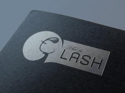Lash unique exclusive cosmetics beauty fancy logo custom