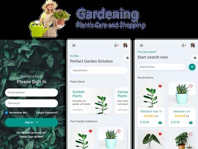 Gardenshop mobile app template mobile ui kit mobile uiux mobile app development mobile app ui android app design app ux html 5 bootstrap 4