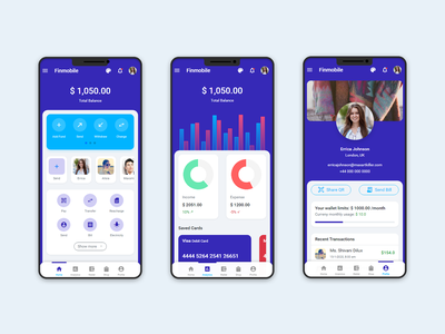 Finmobile Finance and Wallet mobile HTML template jquery mobile jquery ui css bootstrap theme sticky foooter app ui kit mobile app kit bootstrap template html templates html template html mobiel app ux app ui mobile app development mobile app android app html 5 bootstrap 4
