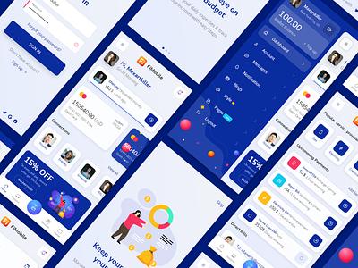 FiMobile Finance Mobile HTML template Bootstrap5 design mobile app ui ux app html 5