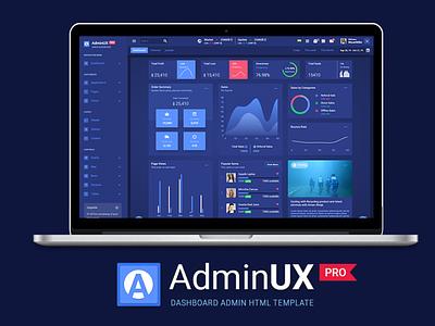 Adminux PRO HTML ux angular admin template admin template admintemplates admin design dashboard design angular dashboard template dashboard app dashboard ui design branding html 5 ui bootstrap 4