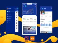 Lemux News and Magazine mobile application