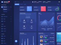 Adminux PRO HTML Dashboard template