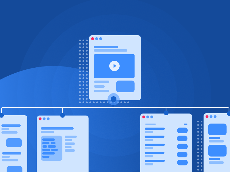SiteMaps: What Is It and How to Do It flowchart user flow app prototype flowmapp uidesign ux sitemap