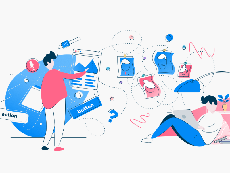 Website Redesign, the First Steps prototype research persona sitemap illustration design app ux