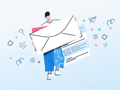5 Tips On Designing UX for Your Email Newsletters ux design email userflow illustration product design product workflow flowmapp sitemap ux