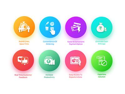 E-commerce Icons Set ui ios android web app design icons ecommerce