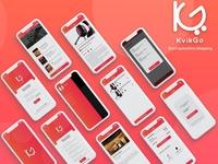 KvikGo (Queueless Checkout App UI)