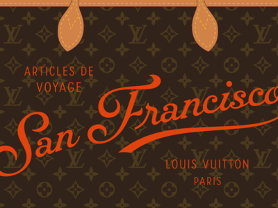 Louis Vuitton script samples 2