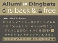 Allumi Free Dingbats