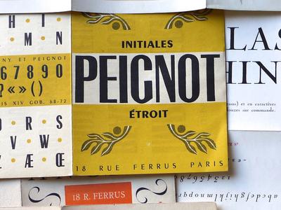 Specimens Deberny et Peignot