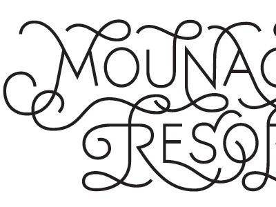 Domaine de Noria 2 typography porchez typofonderie 2010 lettering refused logotype