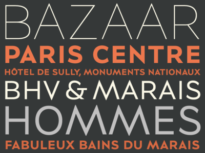 BHV Marais typeface