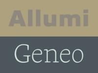 Allumi + Geneo