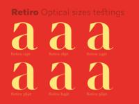 Retiro Optical Sizes
