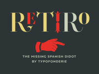 Retiro, a new hispanic Didot
