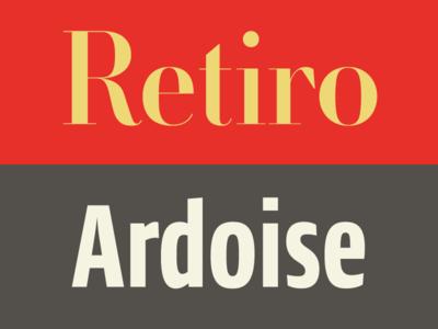Pairing Retiro Ardoise