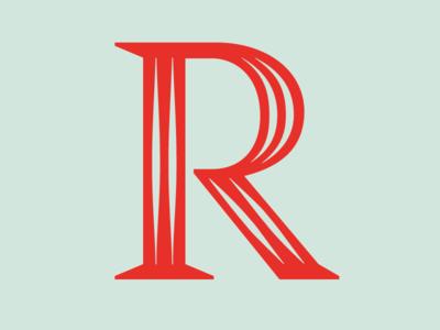 R Parmigiani zecraft typeface serif open capitals parmigiani