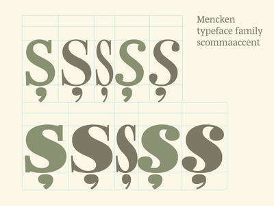 Checking Mencken scommaaccent  typeface font robofont diacritics typofonderie final condensed head text mencken