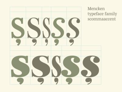 Checking Mencken scommaaccent
