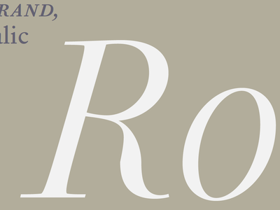 PS Fournier: More about this new typeface ps fournier stephaneelbaz typofonderie serif release 2016 typethursday
