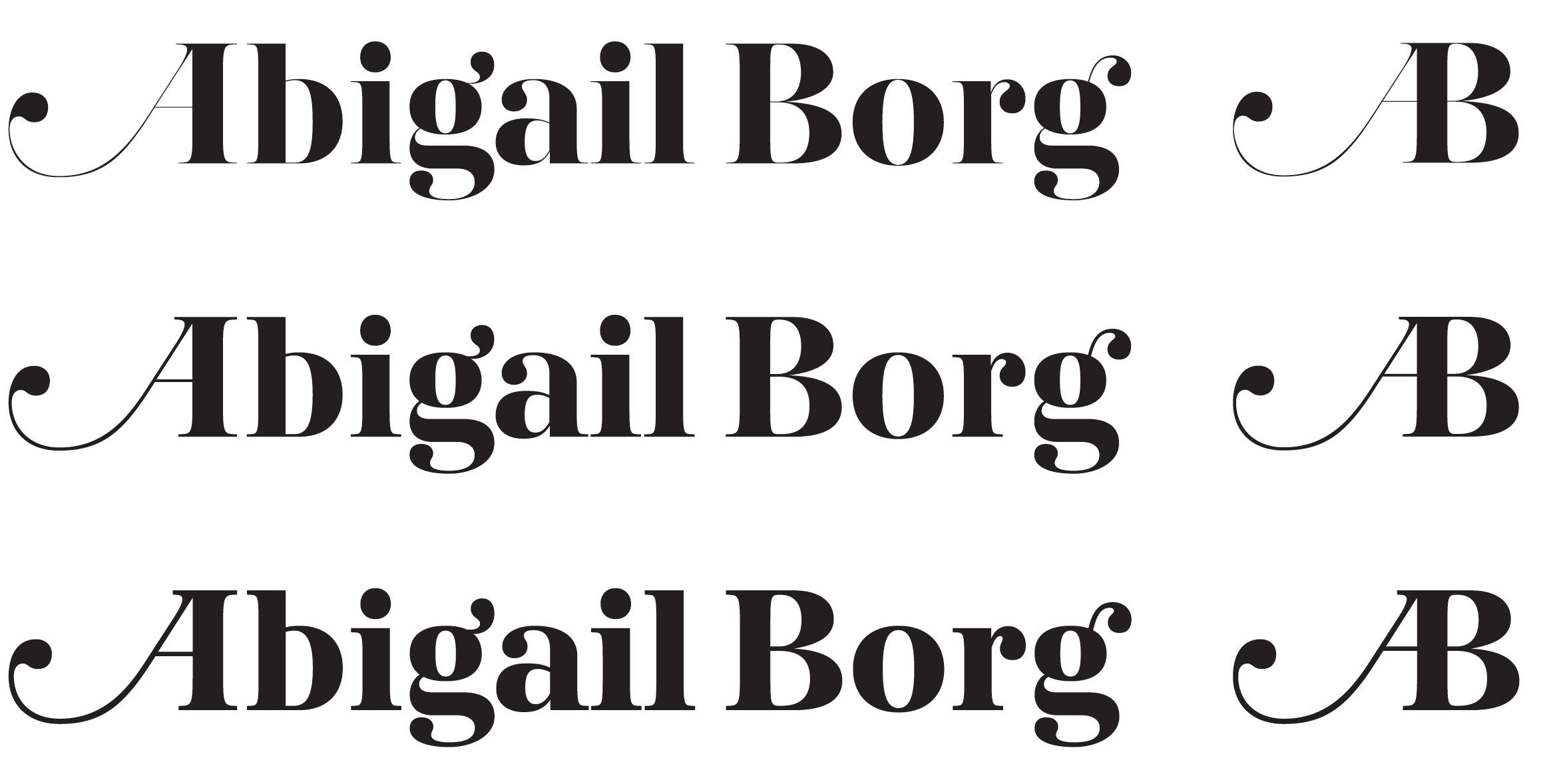 Abigailborg threeversions2011