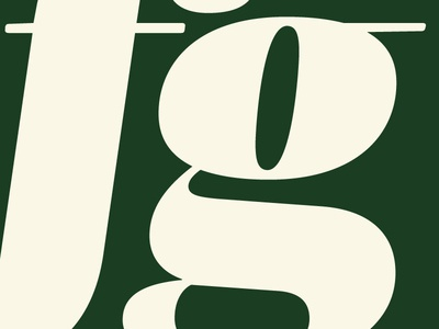 Mencken Pro Head Black Italic f + g