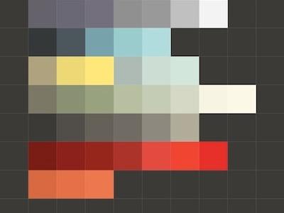 Color scheme for Typofonderie paravel typofonderie zecraft 2011 2012 colors website design