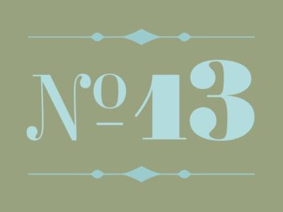 Ambroise Numero 13