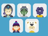Mobile App Avatars I