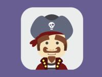 Mobile App Avatars II - Pirate Captain