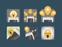 Security App Icons