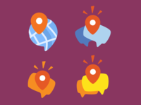 Location Sharing App icons