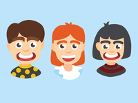 Kids character illustration
