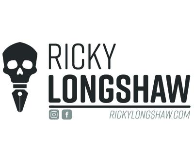 Email Signature Logo longshaw ricky skull signature email illustrator designer logo