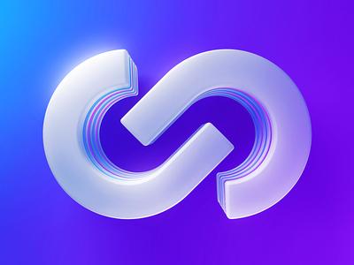 Logo Experiments vector logotype idenity cinema 4d c4d branding design illustration logo 3d render plates