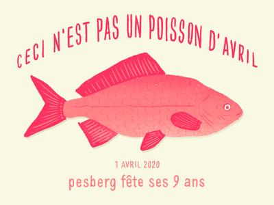 Ceci n est pas un poisson d'avril