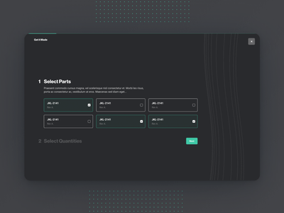 Project Creation Form checkbox check select selector ui design dark mode onboarding creation flow popular branding pelostudio dribbble identity product uidesign interface ui design form