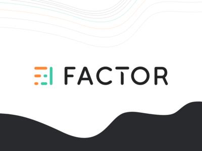 Factor's new branding vector dribbble identity styleguide design engineer manufacturer pelostudio branding design logotype logo guideline factor artistic direction direction artistique brand branding new newbranding