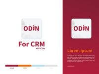 ODIN CRM Logo Design