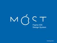 Móst Figma iOS Design System