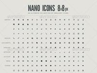 Nanoicons 8x8